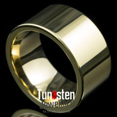 wide tungsten carbide rings