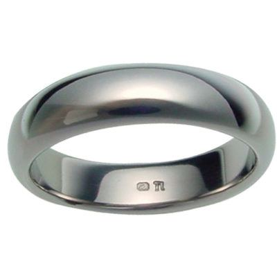 titanium-rings, mens-wedding-rings, all-mens-rings - Plain Classic Titanium Band