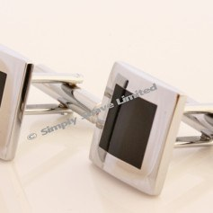cuff-links - Cufflinks Square in a Square
